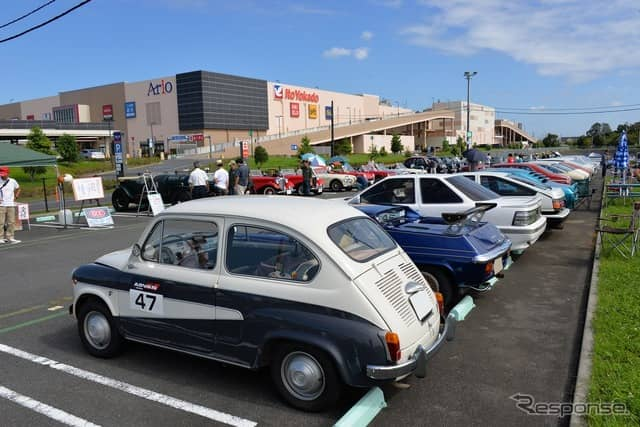 令和元年度 秋の全国交通安全運動出発式 久喜クラシックカーパレード《撮影 嶽宮三郎》