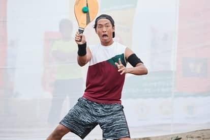 気軽に楽しめる「フレスコボール大会 WITH 海岸祭り」が逗子海岸で開催