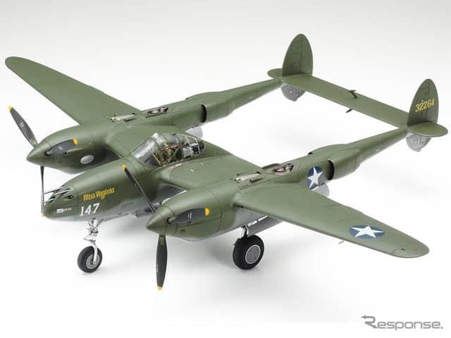1/48ロッキード P-38F/G ライトニング《画像:タミヤ》