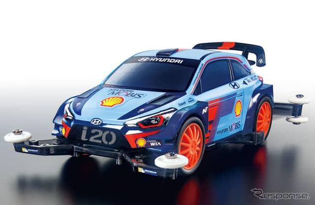 ヒュンダイ i20 クーぺ WRC ミニ四駆《画像:タミヤ》
