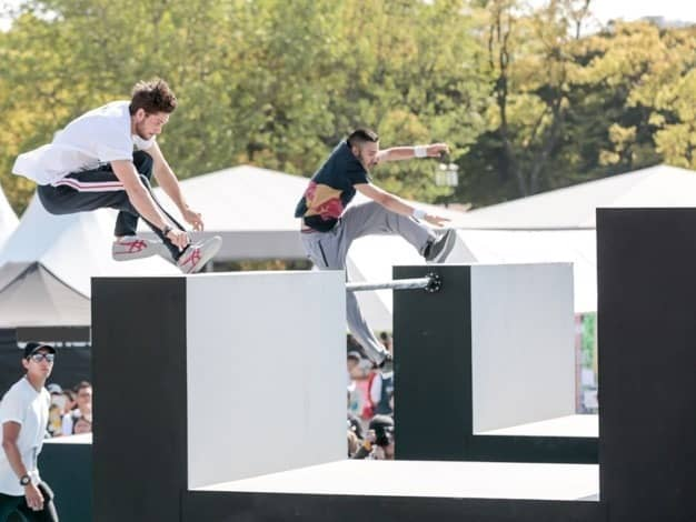 運動会競技イベント「UNDOKAI WORLD CUP」&「パルクール日本選手権」開催