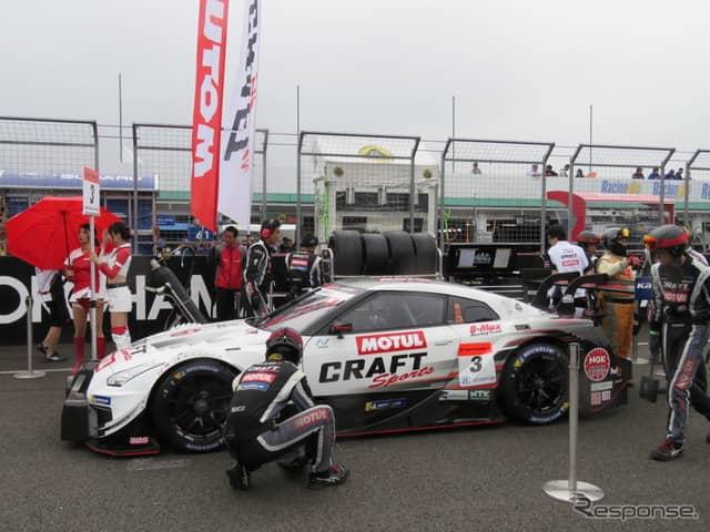 GT500クラス優勝の#3 GT-R。《撮影 遠藤俊幸》