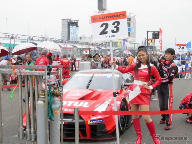 決勝3位の#23 GT-R。《撮影 遠藤俊幸》