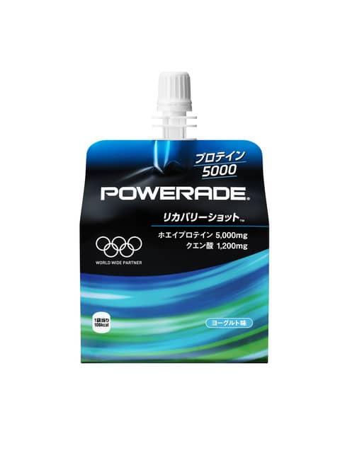 アスリート向けオリンピック公式スポーツゼリー飲料「パワーエイド」発売