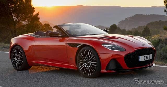 アストンマーティン DBS スーパーレッジェーラ・ヴォランテ《photo by Aston Martin》