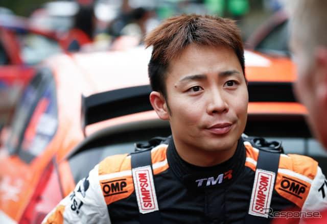 勝田貴元(今季WRCチリ戦=WRC2で優勝)《写真提供 TOYOTA》