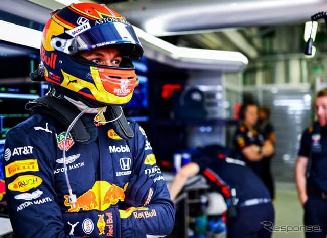 #23 アレクサンダー・アルボン(レッドブル・ホンダ)《写真提供 Red Bull》