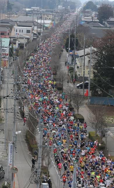 緩やかな制限時間で完走を目指す「サンスポ古河はなももマラソン」3月開催