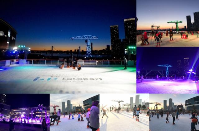 屋外アイススケートリンク「Sea Sideアイススケートリンク」がららぽーと豊洲に12月オープン