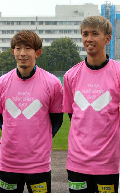 デー ピンク シャツ