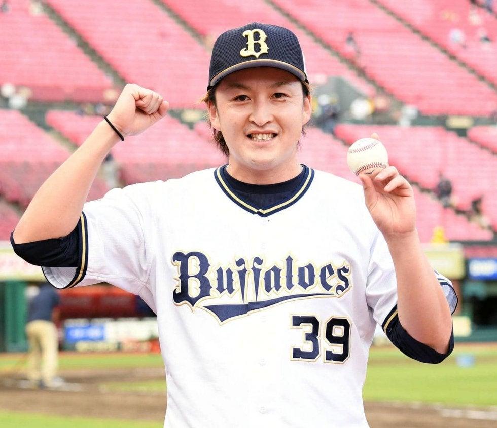 オリックス飯田優也が移籍後初勝利「頑張ります」   野球   スポーツ ...