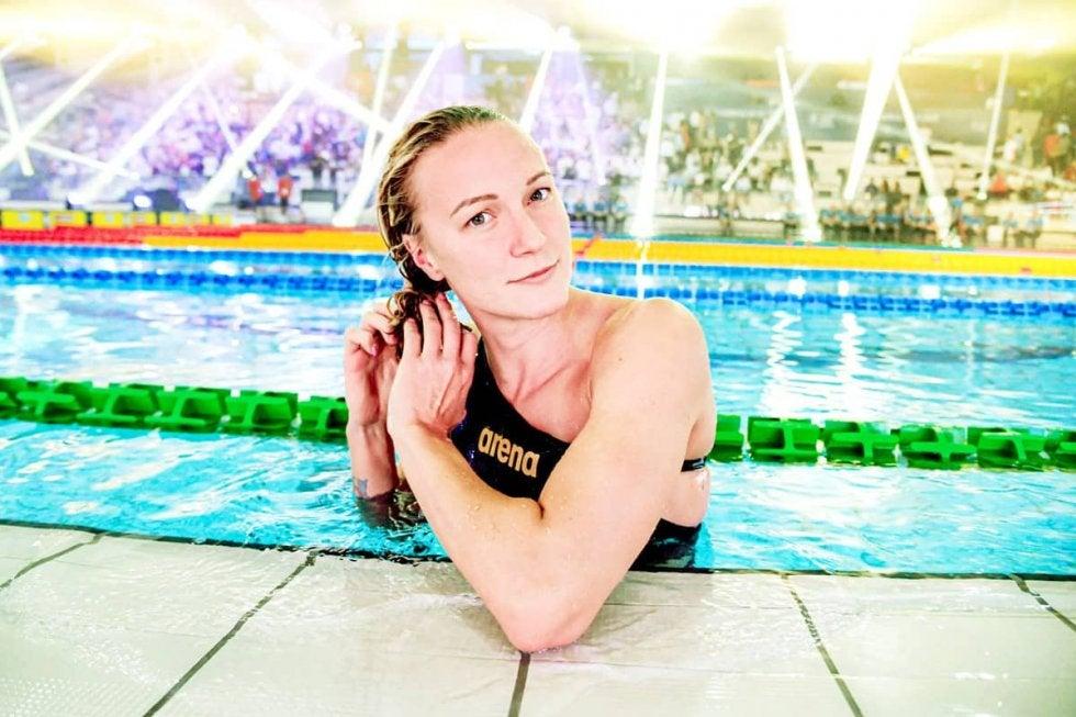 競泳リオ金・サラ・ショーストロム、コロナ禍でも「みんなが最善の道を見つけようと努力している」