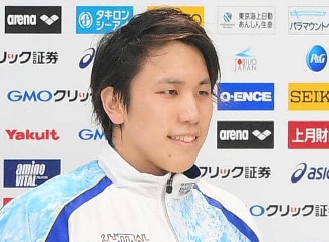 競泳松元克央が21年初レースで「新カツオ」 男子200M自由形で日本新記録