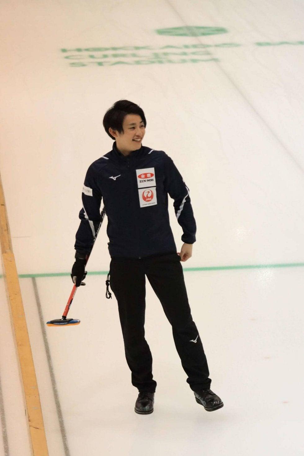 カーリング男子コンサドーレ松村雄太「メダルを」   ウィンター ...