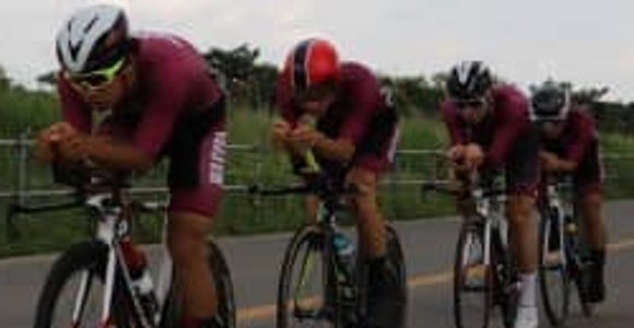 山田 個人タイムトライアルで2位に!