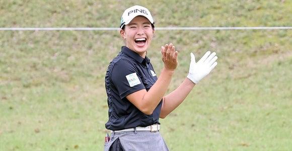 渋野日向子「安定したゴルフ」初の2週連続Vへ1差3位