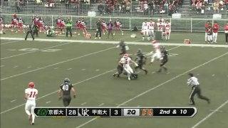 京都大学 vs 甲南大学 (EXPO)