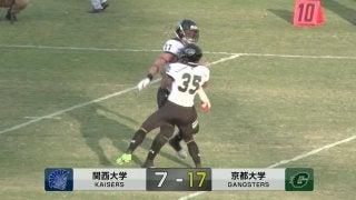 関西大学 vs 京都大学(万博記念競技場)
