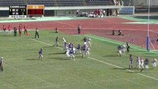 龍谷大学 vs 甲南大学(万博記念競技場)