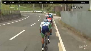 【フルタイム動画】Tour of Japan 2019 第2ステージ:京都
