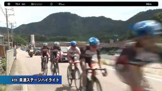 【ハイライト動画】Tour of Japan 2019 第4ステージ:美濃