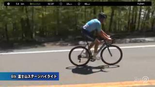 【ハイライト動画】Tour of Japan 2019 第6ステージ:富士山