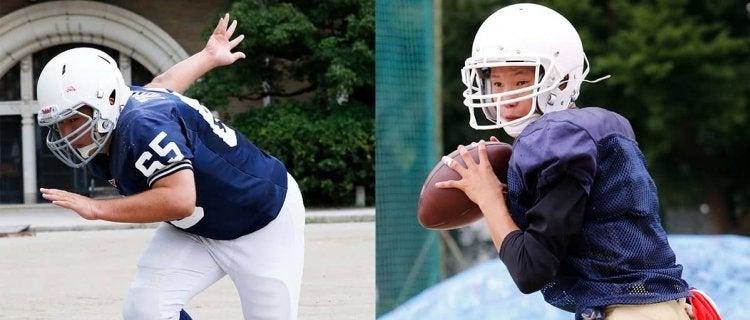 一人でも僕はフットボールを続ける上鶴間高QB木村・東海高OL/DL篠田
