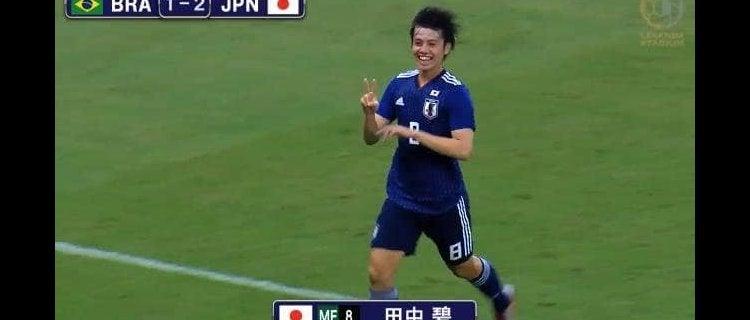 【ハイライト】U-22日本代表がタレント揃うブラジルに3−2の逆転勝利!