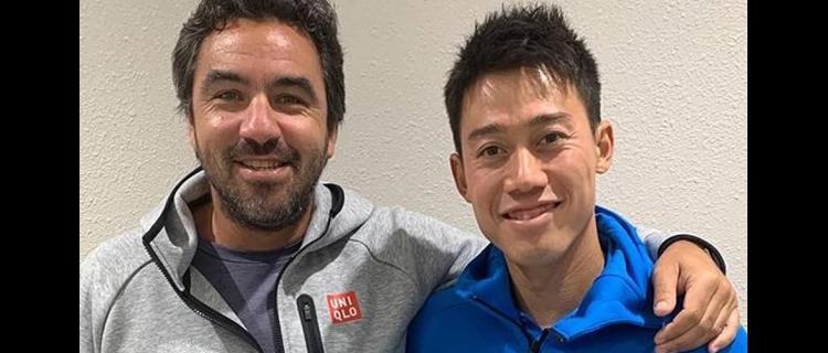 錦織圭、ダンテ・コーチとの契約解消を発表「9年間の貢献と友情に感謝」