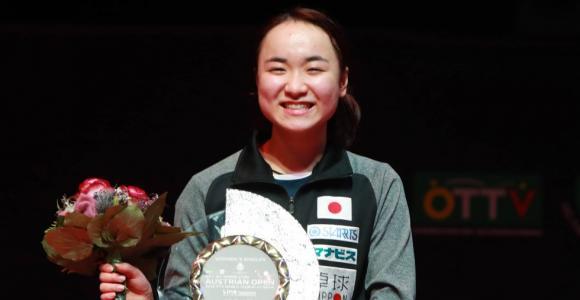 伊藤美誠、今季ツアーシングルス初優勝 オーストリアオープン全日程終了