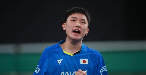 張本・伊藤、五輪代表に確定 世界ランキングポイント