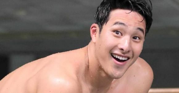 瀬戸大也、12年ぶり日本新 高速水着の松田超え
