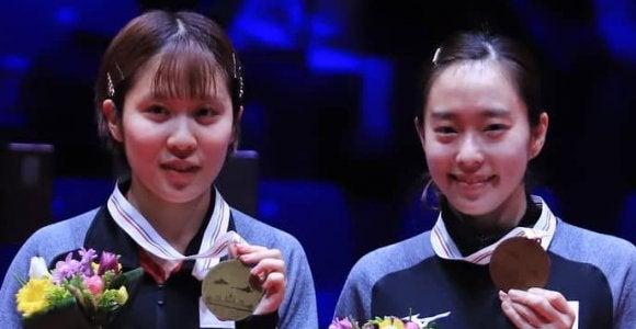 石川、平野組ワールドツアー初優勝 東京五輪に向け弾み