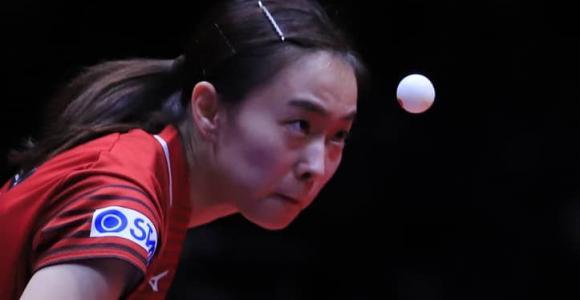 石川佳純2冠ならず   シングルスはベスト4