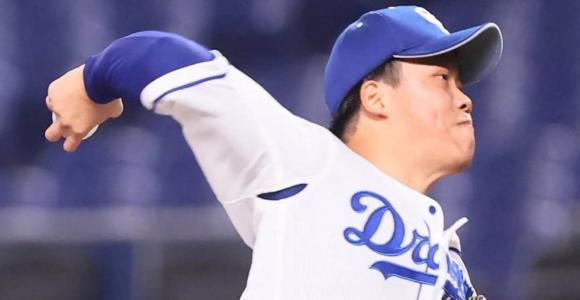 柳裕也、7回1失点10奪三振の力投も「何とか投げ勝ちたかったです」