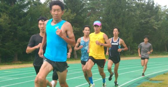 選手より速い立大・上野裕一郎監督 東海大記録会でペースメーカー2本