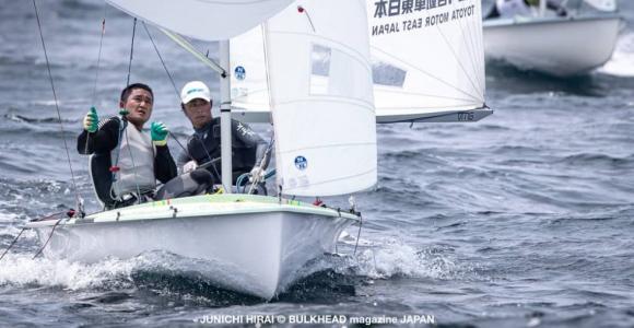 岡田/外薗が完全勝利!第3回関東470フリートレース
