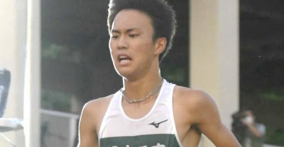 18歳の石田洸介が大迫と競り合い、5000メートルで高校新記録