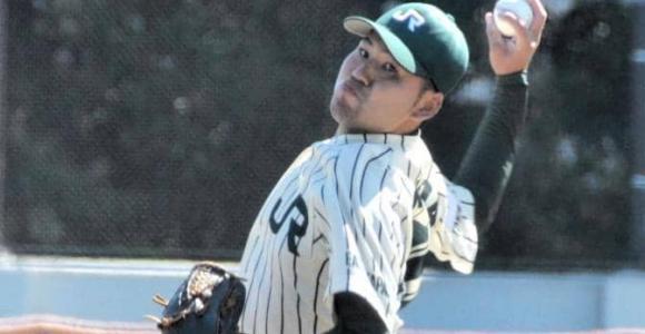 阪神など9球団が視察 JR東日本・西田が6回1失点の力投