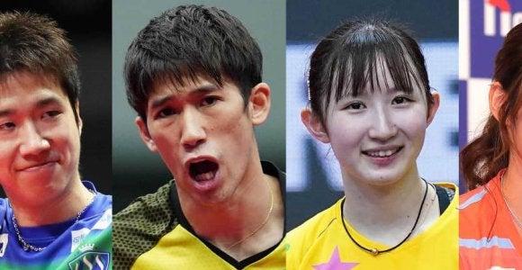 未来応援ドリームマッチに水谷隼、早田ひならの出場が決定