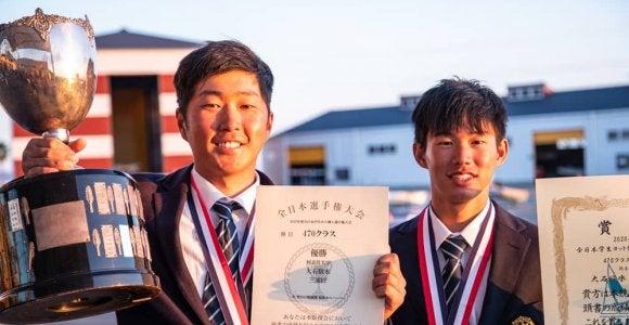 松尾3連覇、大石1年生優勝を達成!全日本インカレ個人戦最終日